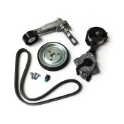 Water Pump Friction Wheel, Pulley, Tensioner & Drive Belt Kit