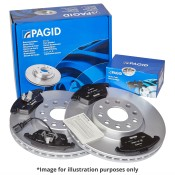 Pagid Rear Brake Kit
