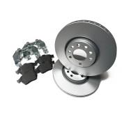 Front Brake Discs & Pads Upgrade Kit 308MM
